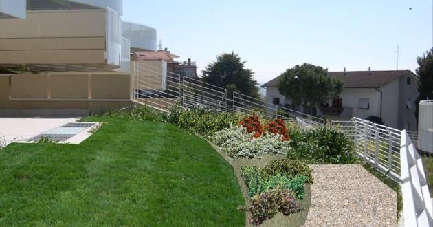 Habitat verde ambiente rendering for Rendering giardino